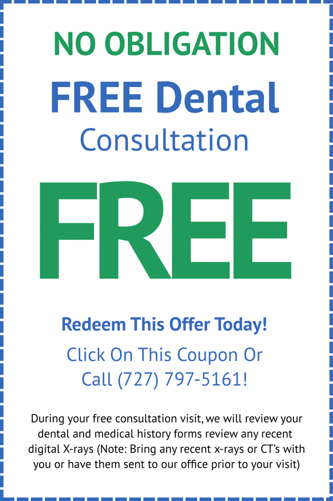 Free dental consultation Clearwater, FL